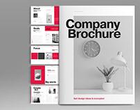 Red Company Brochure