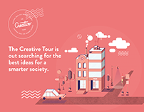 The Creative Tour Illustrations & Branding