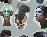 heads