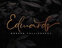 Edwards Stylish Calligraphy Font