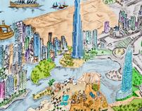 Dubai Sketch