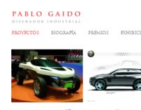 PabloGaido WebSite portfolio