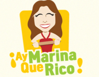Ay Marina que Rico! website & blog