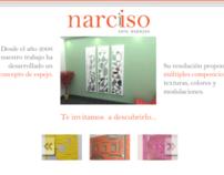 Narciso solo espejos wordpress website