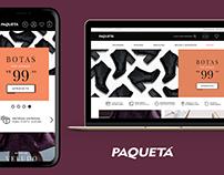 Lojas Paquetá | E-commerce