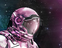 Poster - The Astronaut
