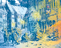 Christmas Preparations - Illustration