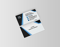 BLUE BUISSNESS CARD