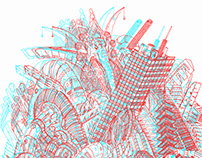 3D anaglyph works