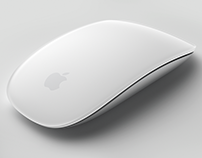 Apple Magic Mouse CAD surfacing/sculpting exercise