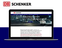 DB Schenker Trade Solutions Website
