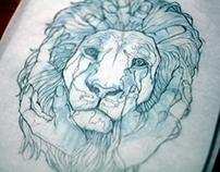 Lion. Moleskine