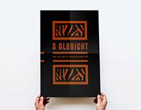 s olbricht // cover artwork, silkscreen poster