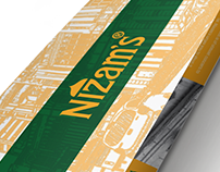 Nizam's : Menu Redesign