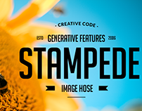 Stampede. Adobe Illustrator + Leap Motion Controller