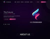 New Technologies Website