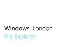 Windows London File Explorer
