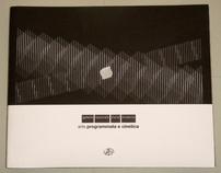 """Progetto Grafico """"Arte Programmata e Cinetica"""" G.N.A.M."""