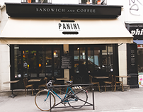 Panini - Sandwich and Coffee