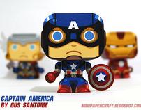 Avengers Mini Papercraft