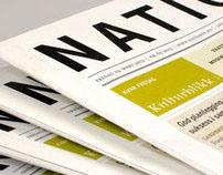 Newspaper design | Nationen