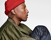Pharrell Williams + G-Star RAW