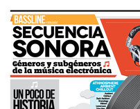 Secuencia Sonora Infografía
