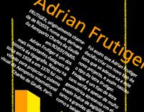 Poster Frutiger
