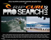 Action Sports Newsletter