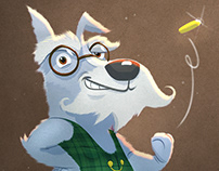 Dapper Dog Character Designs
