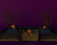 Halloween 3D project