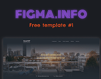 Download free template for Figma #1 | Скачать шаблон