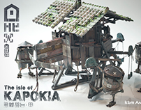 "MULTI-LEGGED ROBOT : from ""The isle of KAPOKIA"""