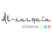 Logo for artisans project Al-xarquía