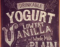 Yogurt Chalk Menu