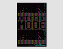 Poster for Depeche Mode