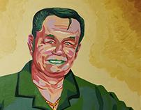 Expressionist Portrait of Grandpa
