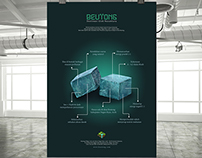 Nephrite Jade Stone of Beutong - Poster Design