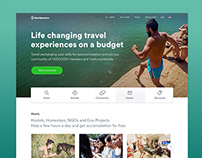 Redesign Home Page – Worldpackers