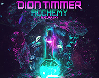 Dion Timmer feat. Azuria Sky - Alchemy Artwork
