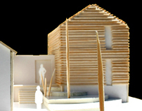 Architecture Model of a house extension