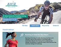 Aviz Branding, Website and Label Design