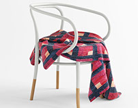 THONET - No.B9 Le Corbusier with Blanket