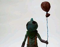 stopmotion puppet
