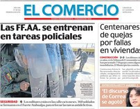 "Pictures published in newspaper ""El Comercio"""