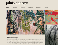 PrintXchange Website Design