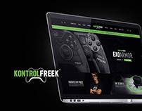 KontrolFreek Website Concept