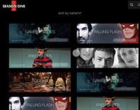 SeasonOne App User Experience with Adobe XD