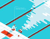 Volkswagen illustrated campaign