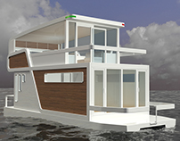 Houseboat concept for students